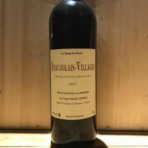 beaujolais village rang du merle lapalu 2017