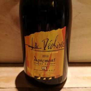 Vin Blanc Savoie Apremont Déchirée Jean Claude Masson 2018