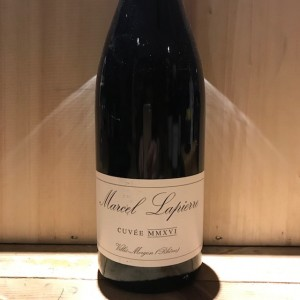 morgon cuvée MMXVI Lapierre 2016