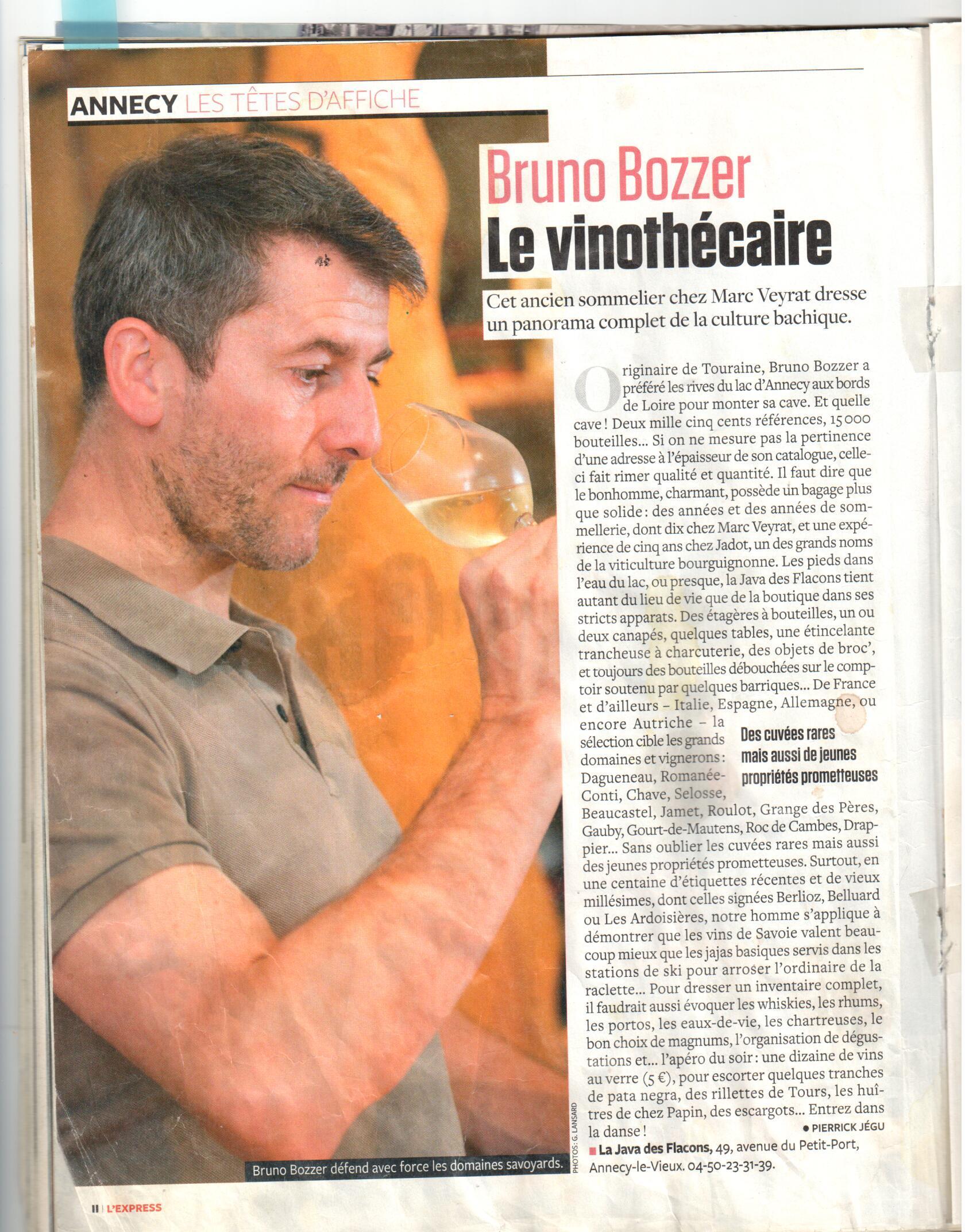 L'express - semaine du 10 au 16 août 2011 - n°3136