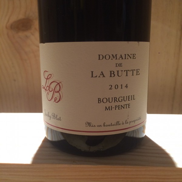 Bourgueil Mi-Pente Domaine La Butte 2014