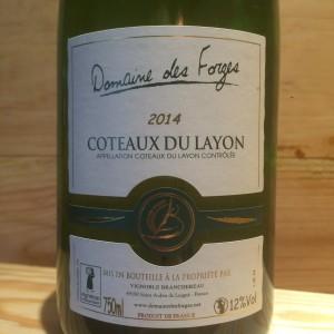 COTEAUX DU LAYON DOMAINE DES FORGES 2014