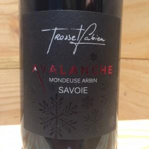 Vin Rouge Savoie Mondeuse Arbin Avalanche 2018 Fabien Trosset
