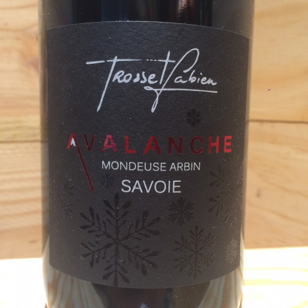 Mondeuse Arbin Avalanche 2015 Fabien Trosset