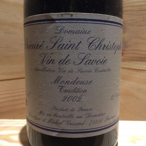 Mondeuse Tradition Michel Grisard 2002