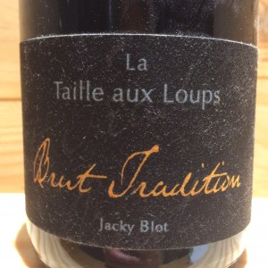 Montlouis Brut Tradition La Taille aux loups Jacky Blot