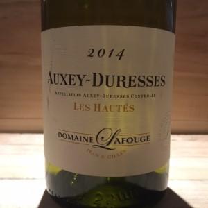 Auxey-Duresses Les Hautes 2014 Domaine Jean & Gilles Lafouge