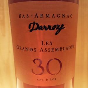 Bas Armagnac 30 ans Grands assemblages Darroze