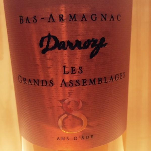 Bas Armagnac 8 ans Grands assemblages Darroze