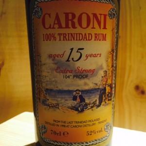 Caroni 15 ans d'âge Trinidad
