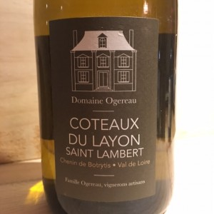 Coteaux du Layon Saint Lambert 2014 domaine Vincent Ogereau