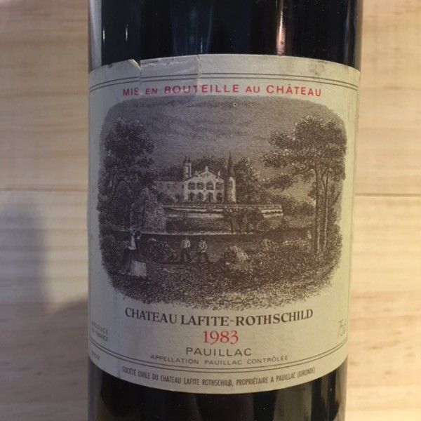 Lafite Rothschild Pauillac 1983