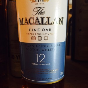 Macallan Fine Oak 12 Years