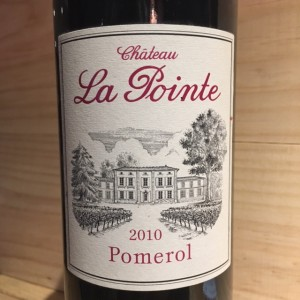 Pomerol Château La Pointe 2010