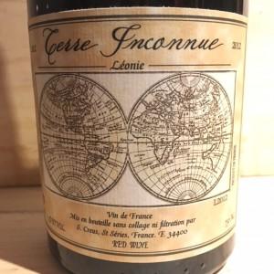 Vin de France Léonie 2012 Domaine Terre Inconnue
