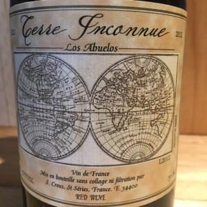 Vin de France Los Abuelos 2012 Domaine Terre Inconnue
