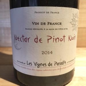 Bourgogne Nectar de Pinot noir Dominique Lucas 2014