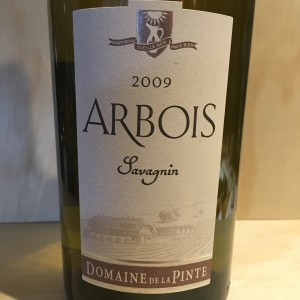 Arbois Savagnin 2009 Domaine de la Pinte