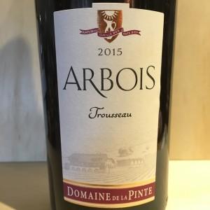 Arbois Trousseau 2015 Domaine de la Pinte