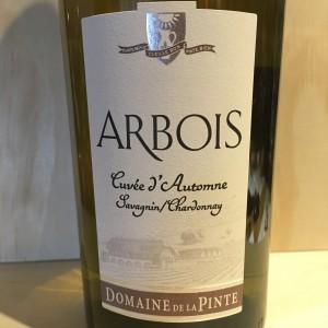 Arbois cuvée d'automne Savagnin Chardonnay Domaine de la Pinte