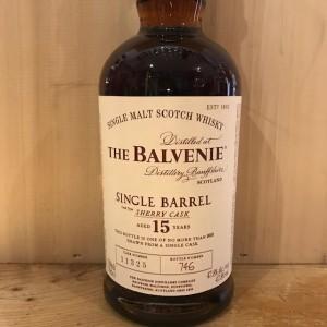 the balvenie 15 years single barrel