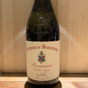 Châteauneuf du Pape Roussanne Vieilles Vignes Château Beaucastel 2017