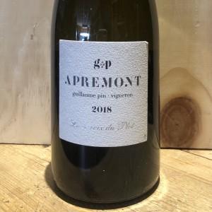 Vin Rouge Savoie Apremont La Croix du Plot Guillaume Pin 2018