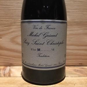 Vin Rouge Savoie Mondeuse Tradition Michel Grisard 2014