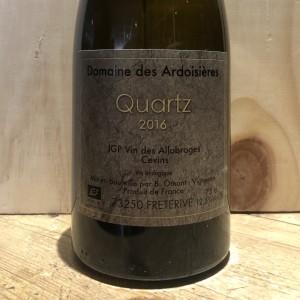 Vin Blanc Savoie Quartz Domaine des Ardoisières IGP Allobrogie Brice Omont 2016