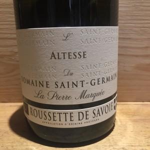 Vin Blanc Savoie Roussette de Savoie L'Altesse Domaine Saint Germain 2019