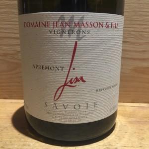 Vin Blanc Savoie Apremont Lisa Domaine Jean Masson & fils 2019