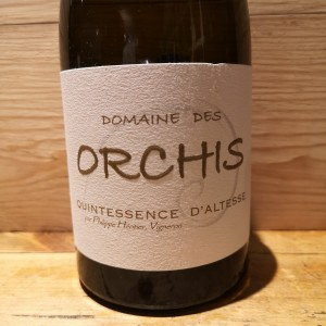Vin Blanc Savoie Roussette de Savoie Quintessence d'Altesse Domaine des Orchis 2018