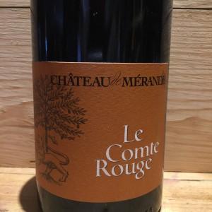 Vin Rouge Savoie Mondeuse Arbin Le Comte Rouge Château de Mérande 2018 BIO
