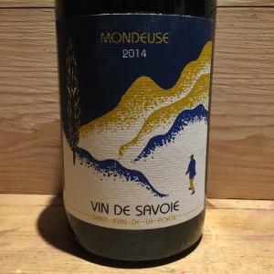 Vin Rouge Savoie Mondeuse Saint Jean de la Porte 2014