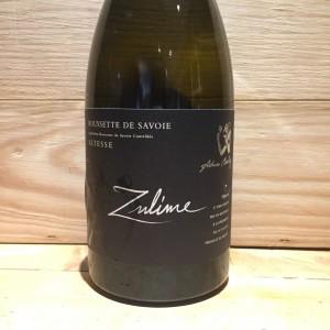 Vin Blanc Savoie Roussette de Savoie Altesse Zulime Domaine du Cellier de Cray Adrien Berlioz 2013