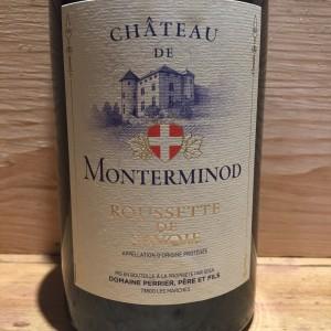 Vin Blanc Savoie Roussette de Savoie Château de Monterminod 2016