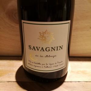 Vin Blanc Savoie Savagnin Vignes de Paradis 2019 Dominique Lucas BIO