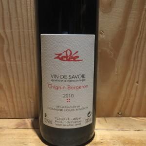 Chignin Bergeron Zélée Domaine Louis Magnin 2010 Blanc Moelleux Savoie