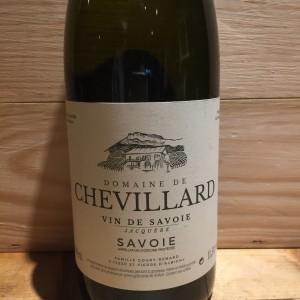 Vin Blanc Savoie Jacquère Domaine de Chevillard 2016