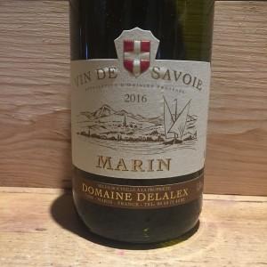 Vin Blanc Savoie Marin Domaine Delalex 2016