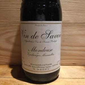 Vin Rouge Savoie Mondeuse Bruno Lupin 2019