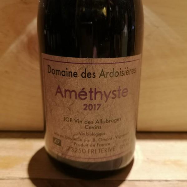 Améthyste Domaine des Ardoisières IGP Vin des Allobroges 2017 BIO