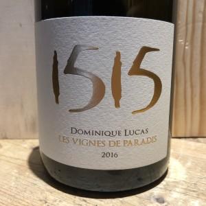 Vin Blanc Savoie 1515 Dominique Lucas 2016 75 cl
