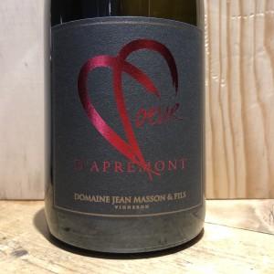 Vin Blanc Savoie APREMONT CŒUR D'APREMONT 2013 J.C. MASSON ET FILS 75 cl