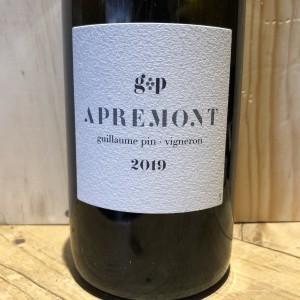 Vin Blanc Savoie Apremont GP, Guillaume Pin 2019 75 cl