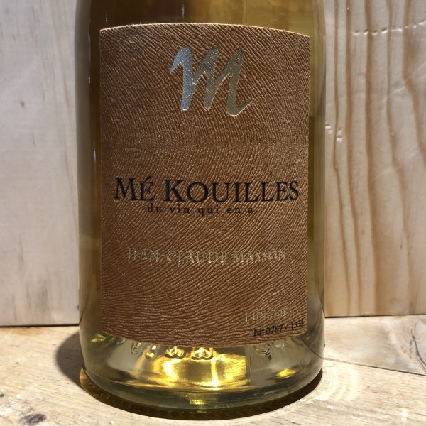 Vin Blanc Savoie Apremont Mé Kouilles Jean Claude Masson 2017