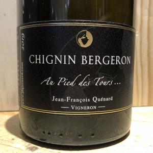 Vin Blanc Chignin Bergeron Au pied des tours Jean François Quénard 2019 75 cl