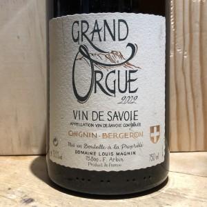 Savoie Blanc Chignin Bergeron Grand Orgue Louis Magnin 2002 75 cl