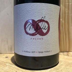 Vin Rouge IGP Hautes-Alpes Mille Façon Longue Macération Petit Août 2019