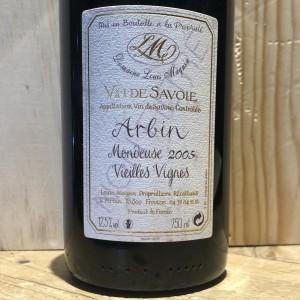 Vin Rouge Mondeuse Arbin Vieilles Vignes Louis Magnin 2005